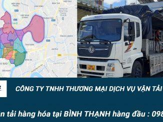 Dịch vụ vận tải hàng hóa Quận Bình Thạnh