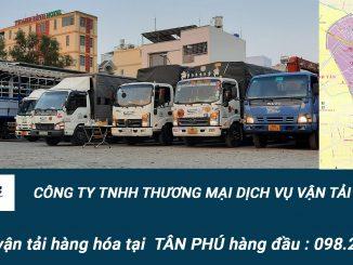 Dịch vụ vận tải hàng hóa Quận Tân Phú phục vụ nhanh chóng