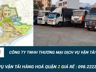 Dịch vụ vận tải hàng hóa Quận 2