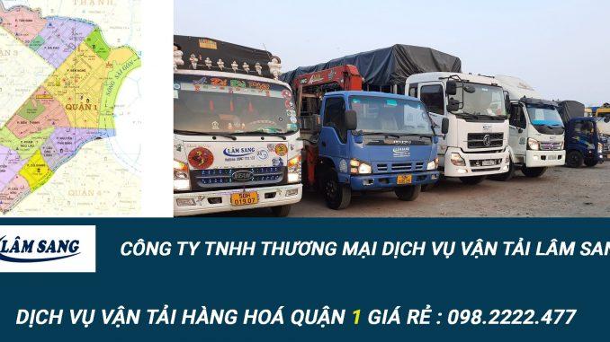 Dịch vụ vận tải hàng hóa Quận 1