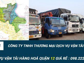 Dịch vụ vận tải hàng hóa Quận 12
