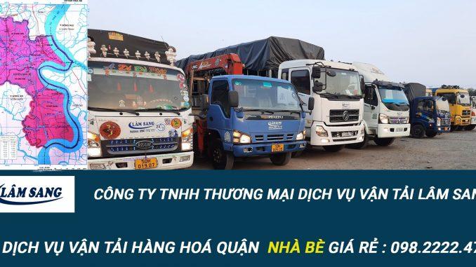 Dịch vụ vận tải hàng hóa Huyện Nhà Bè