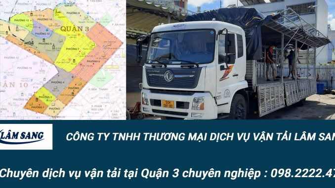 Dịch vụ vận tải hàng hóa Quận 3