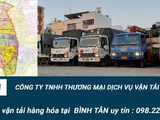 Dịch vụ vận tải hàng hóa Quận Bình Tân